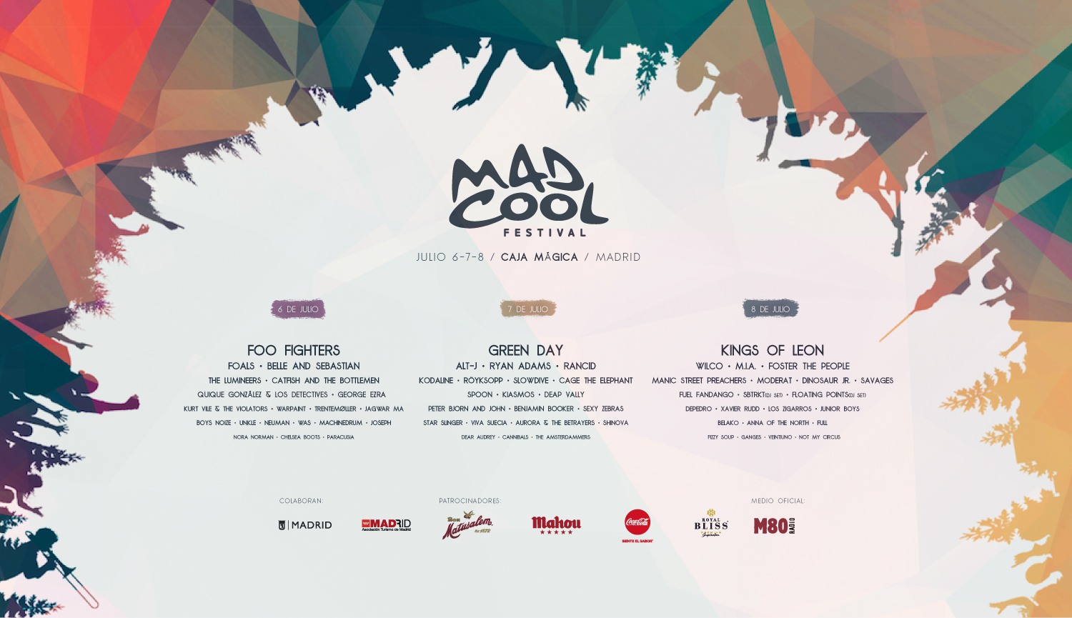 Cartel Mad Cool 2017 - Elowcost.com