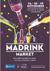 Ma DRINK market @ Mercado de la Cebada | Madrid | Comunidad de Madrid | España